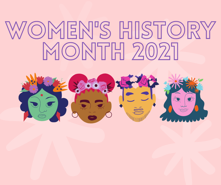 Women's History Month 2021 – Click for all events!